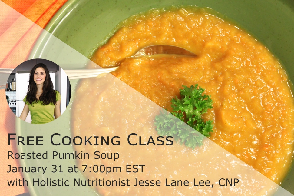 Roasted Pumpkin Cooking Class with @jesselwellness