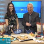 CH Morning Live Cloud Bread segment with @jesselwellness #cloudbread #tv