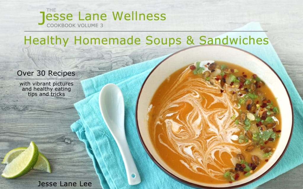 Healthy Homade Soups and Sandwiches hz Cover