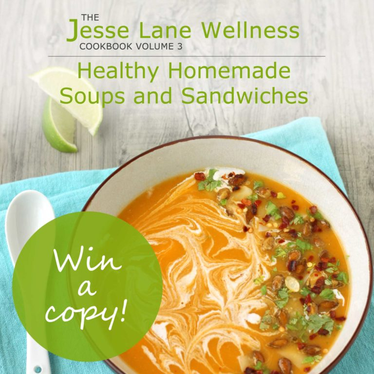 Healthy Homemade Soups and Sandwiches Win a copy #jlwcookbook by @jesselwellness