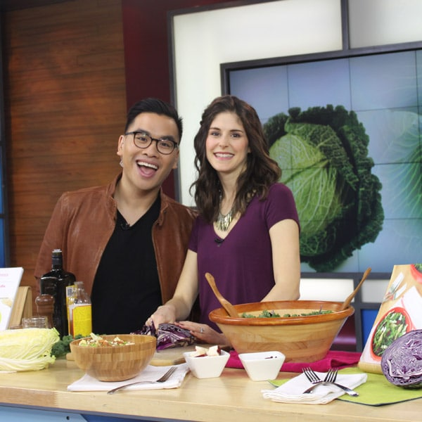 The Morning Show on Global - Cabbage Recipes you will love with @jesselwellness #cabbage #napacabbage