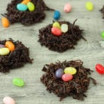 Chocolate Coconut Easter Nests by @jesselwellness #easter #dairyfree