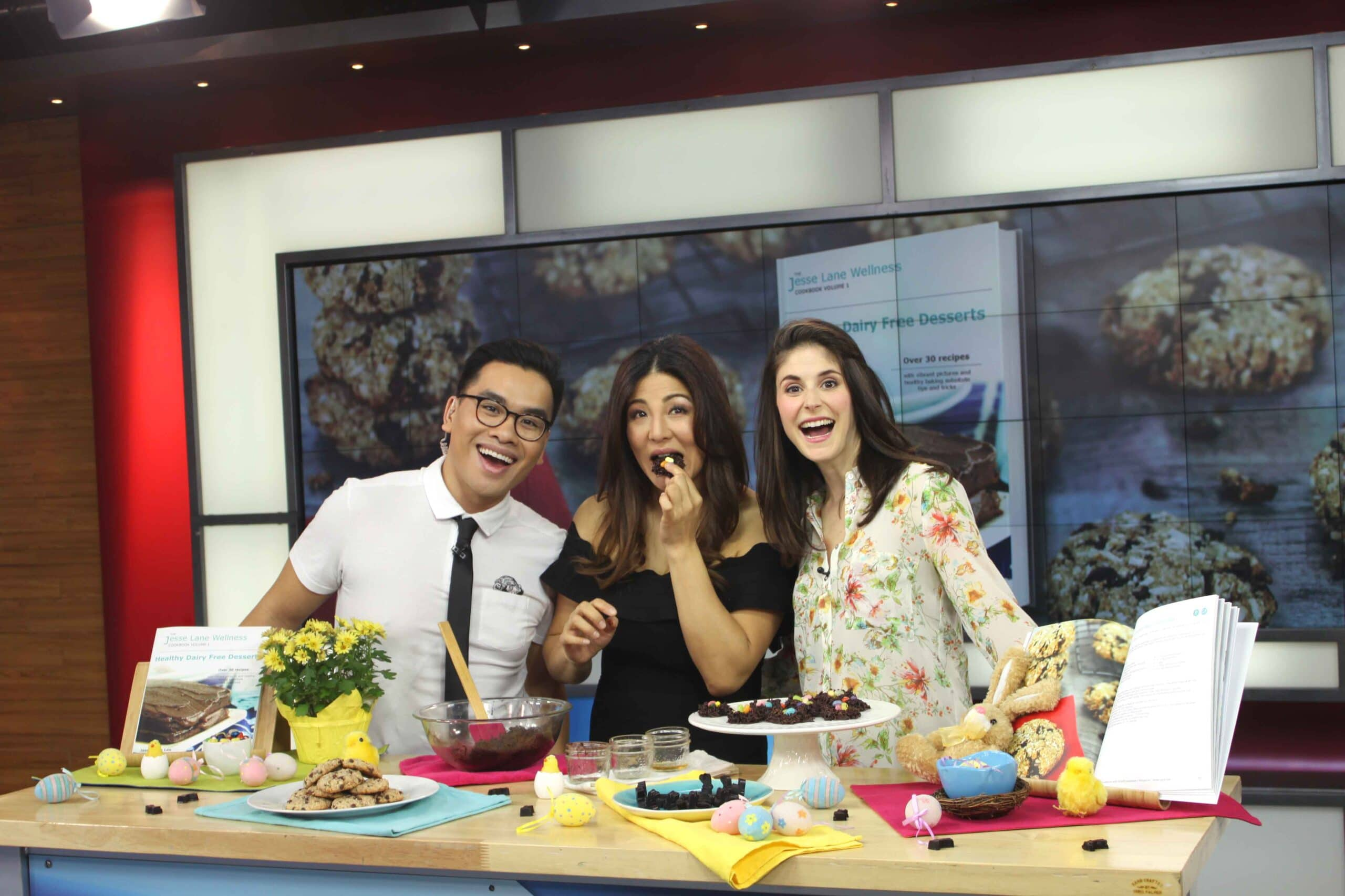 Healthy Easter Recipes on Global TV with @jesselwellness #easter #healthychocolate