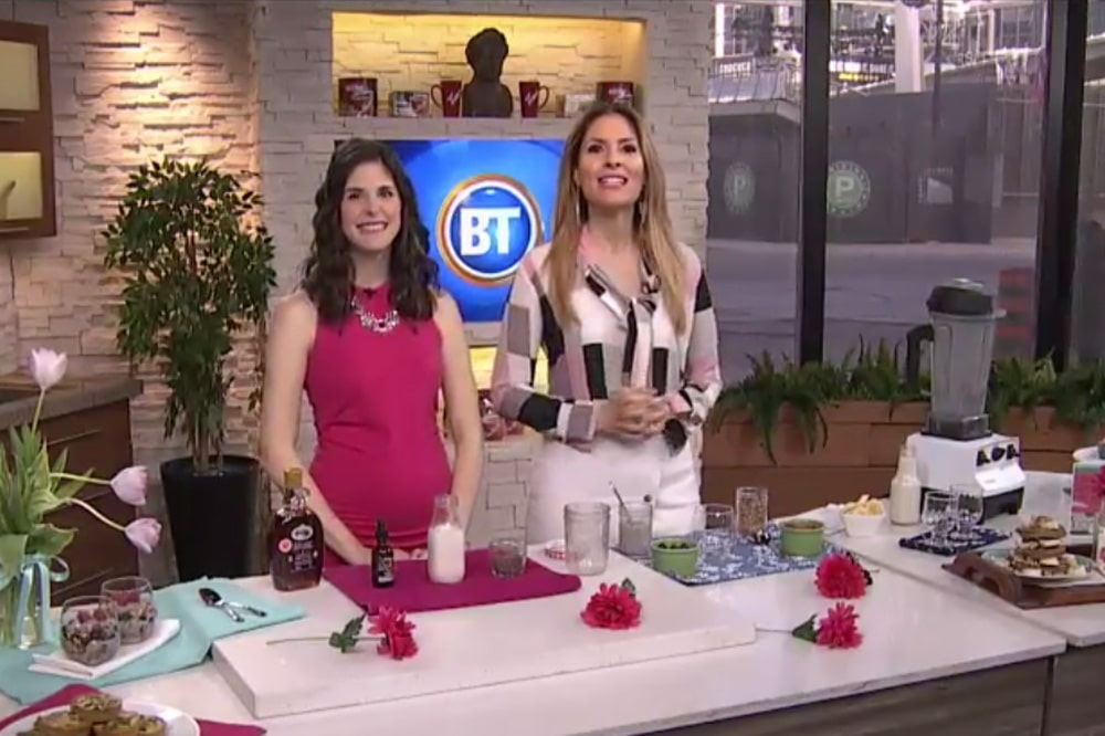 Healthy Mother's Day Brunch on BT with @jesselwellness #brunch #healthybrunch