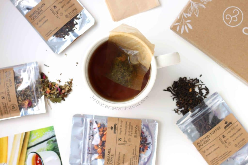 Amoda Monthly Tea Box Review with @jesselwellness #tea #teatime