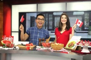 Healthy Canada Day Recipes on The Morning Show with @jesselwellness #longweekend #canada150