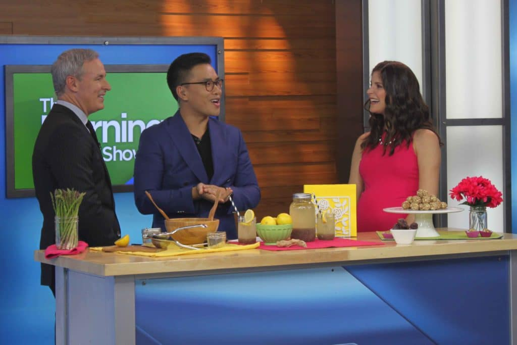 Anti-bloating Recipes on The Morning Show with @jesselwellness #bloating #constipation
