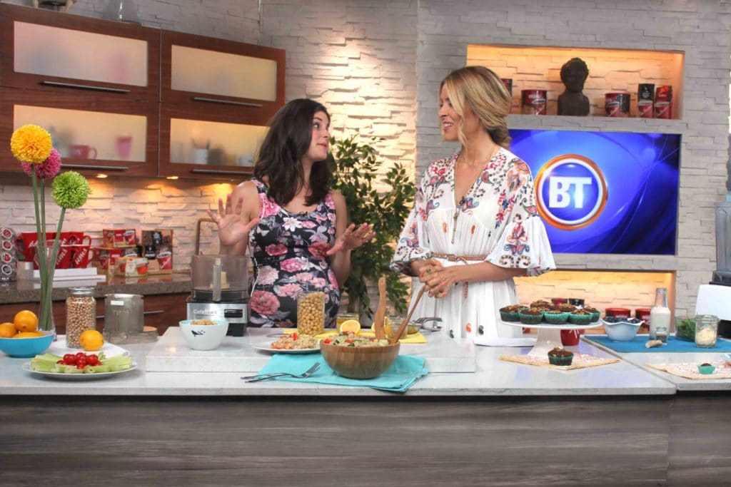 Pregnancy Power Foods on Breakfast Television with @jesselwellness #pregnant #holisticpregnancy