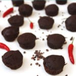 Dark Chocolate Chili Brownies from Healthy Dairy Free Desserts by @jesselwellness