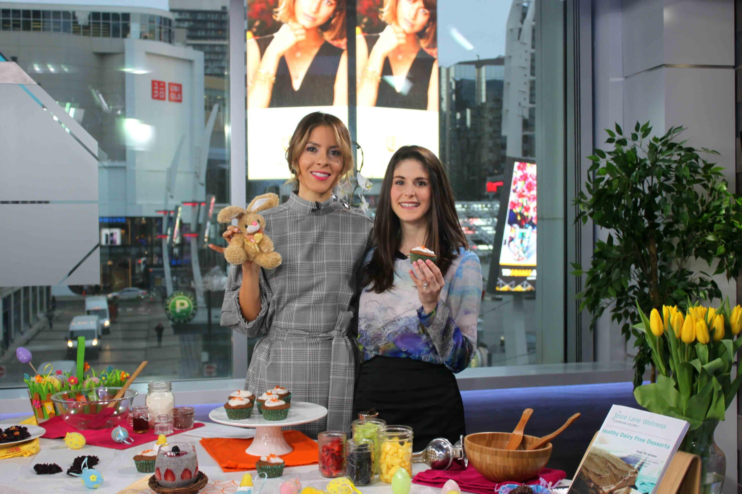 Healthy Easter Treats on Breakfast Television with @jesselwellness #easter