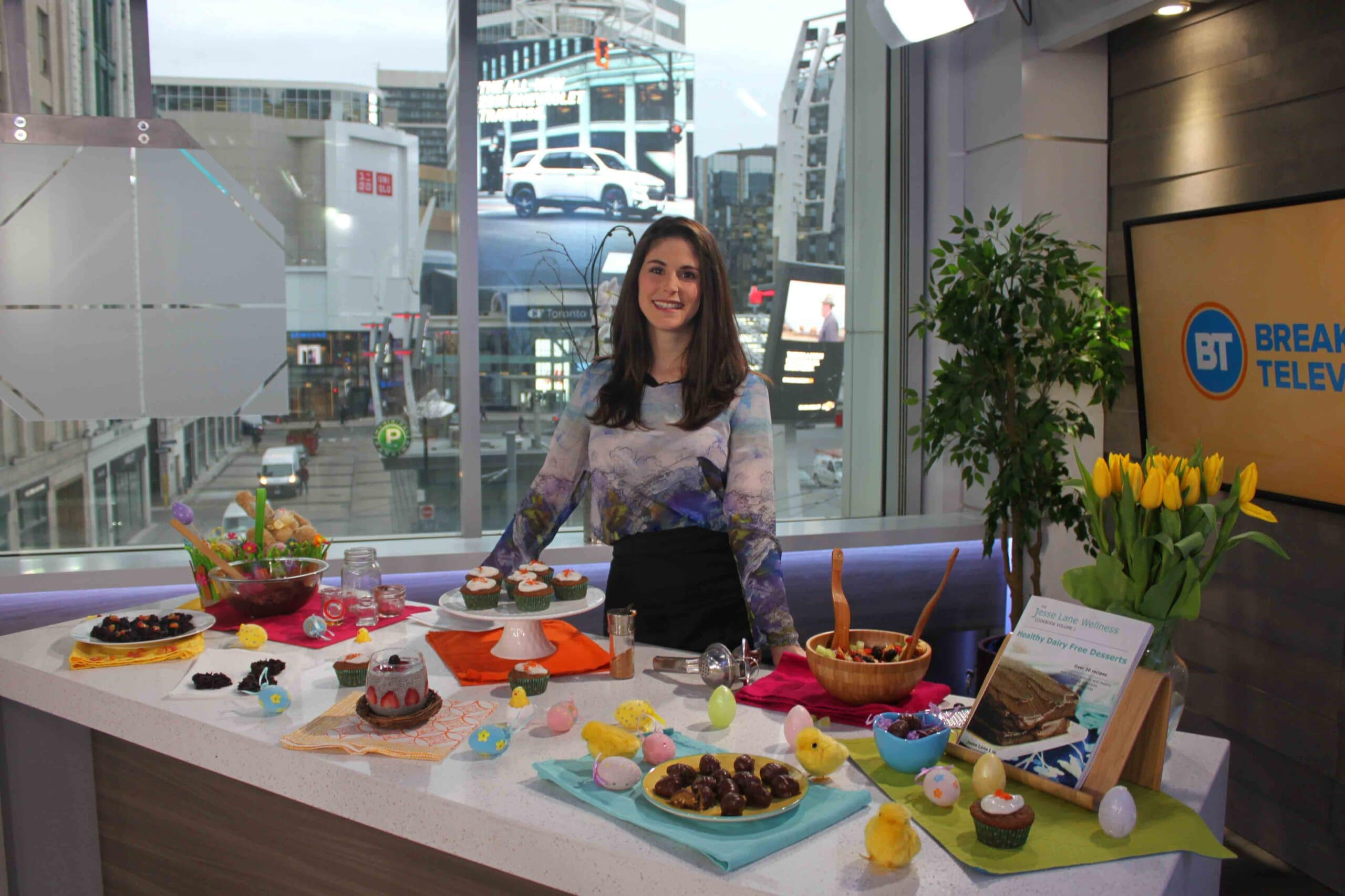Healthy Easter Treats on Breakfast Television with @jesselwellness #eastertreats