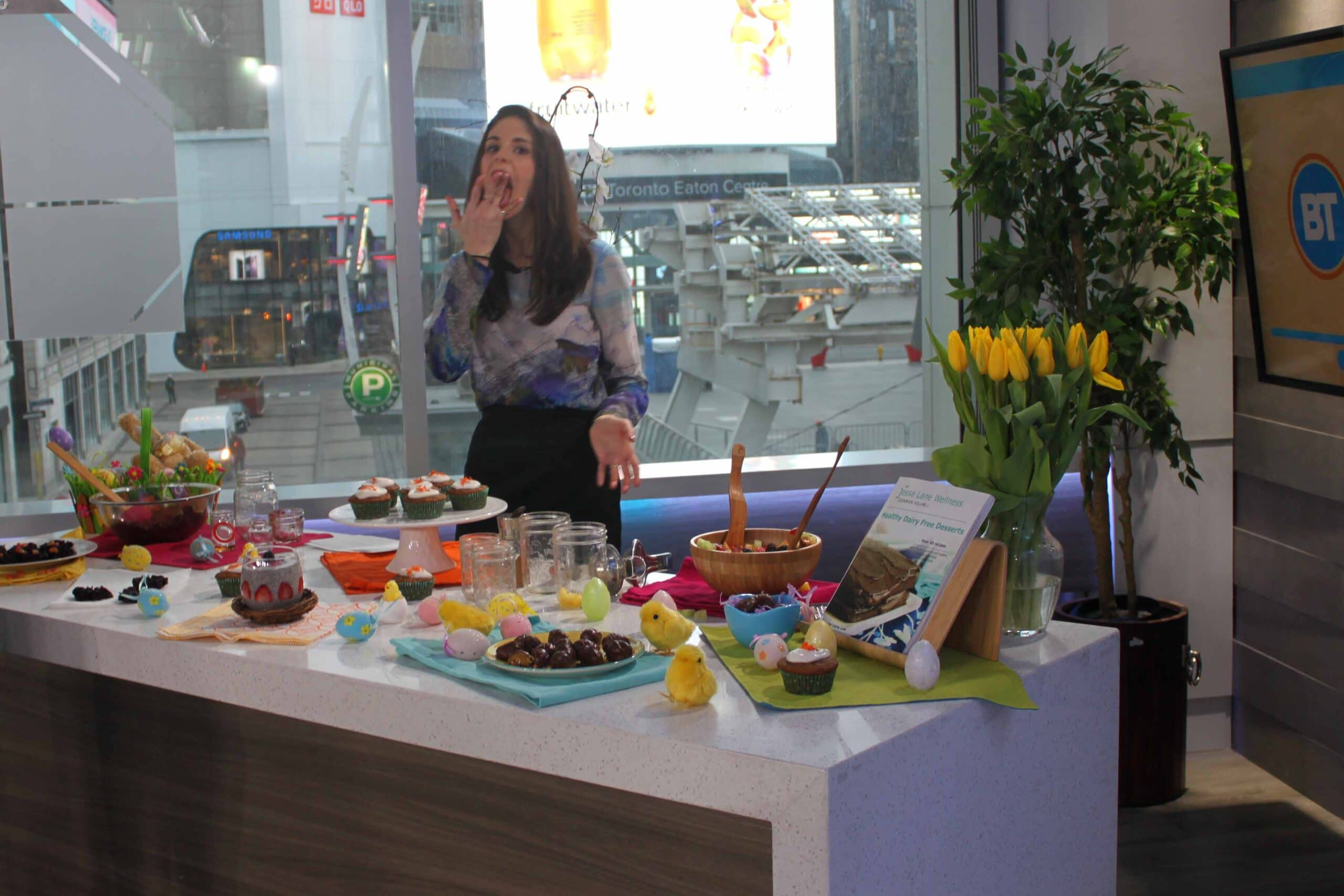 Healthy Easter Treats on Breakfast Television with @jesselwellness #healthytreats