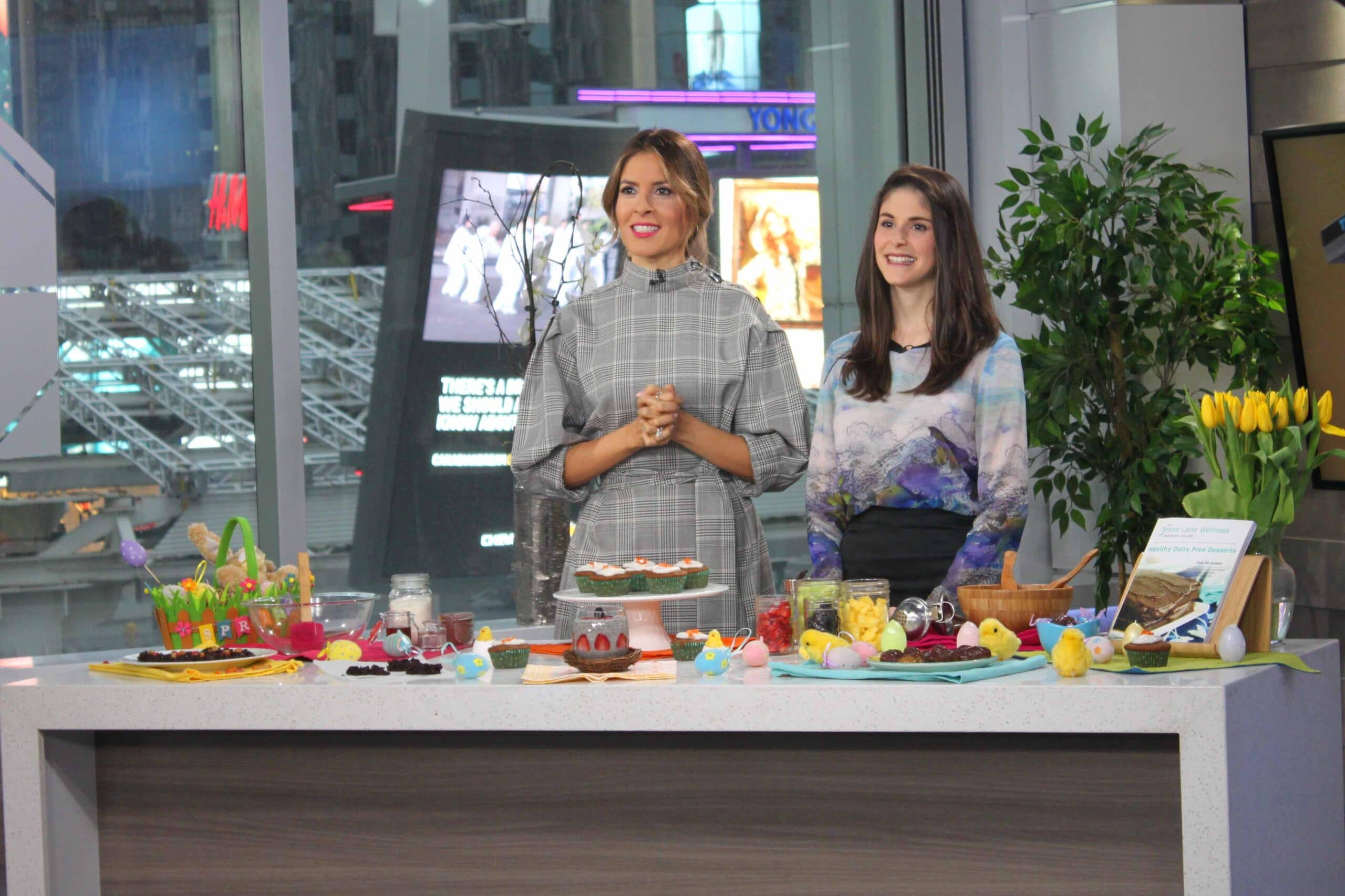 Healthy Easter Treats on Breakfast Television with @jesselwellness