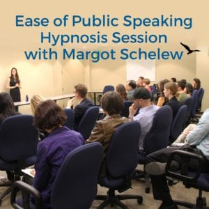 Ease of public speaking with Margot Schelew