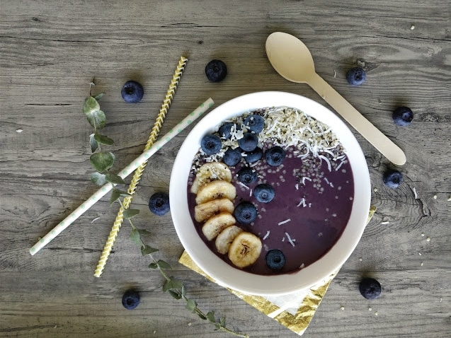 How to build a Smoothie Bowl with @jesselwellness