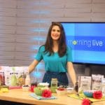 Building a Beautiful Smoothie Bowl on CH Morning Live #smoothiebowl