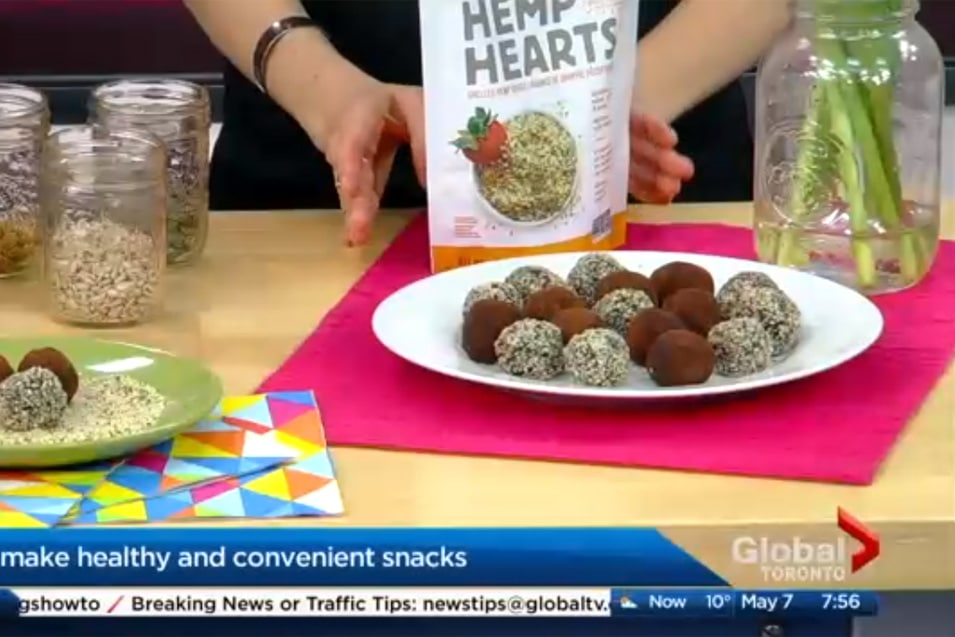 Healthy Convenient Snack with @jesselwellness and Manitoba Harvest on Global TV