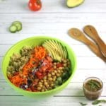 Sleep-Supporting Salad from Healthy Fresh Salads by @jesselwellness #healthysalad