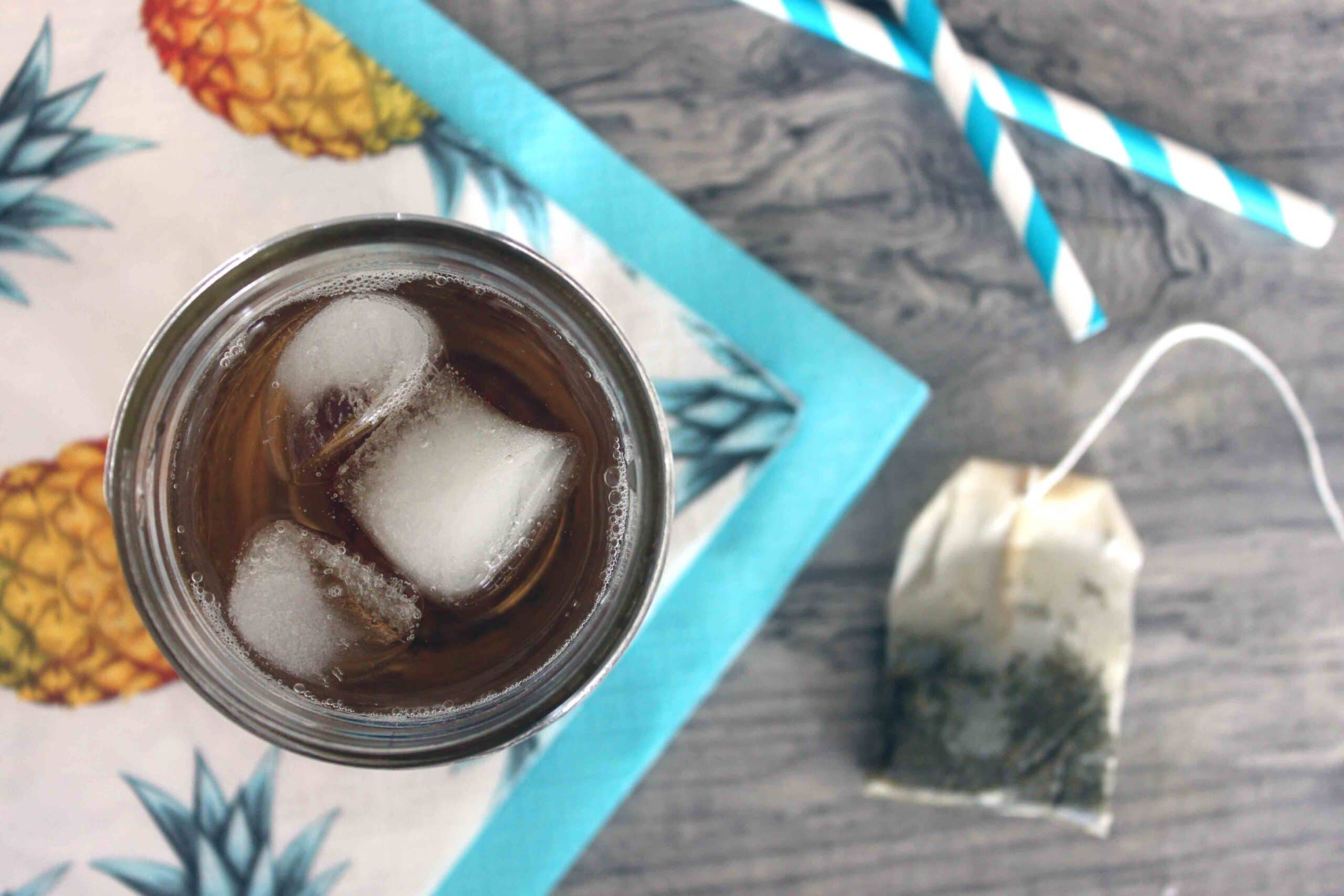 Cold Brew Iced tea by @jesselwellness #coldbrew
