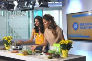 Myths about fat on Breakfast Television with @jesselwellness #healthyfat