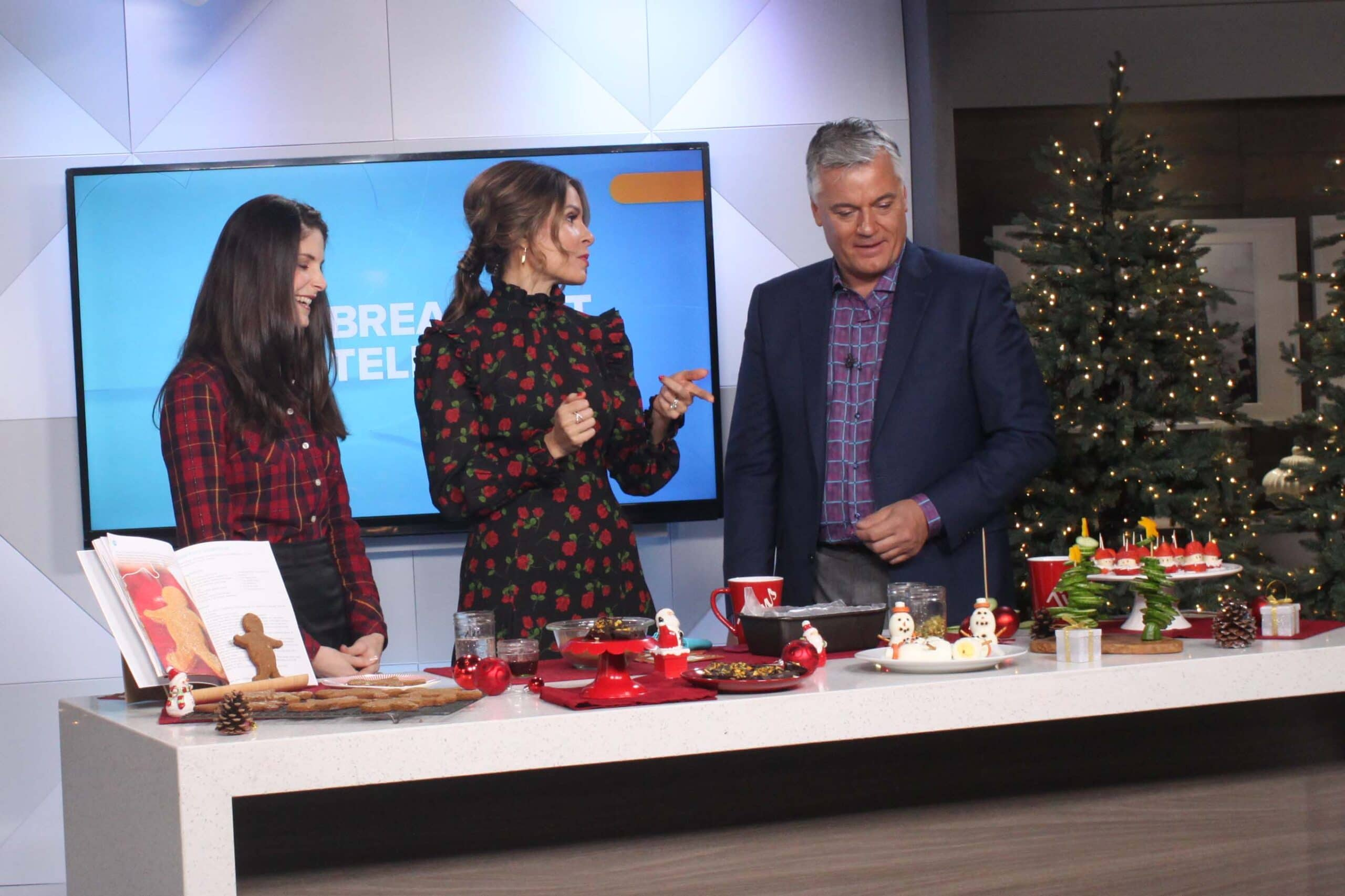 Pinterest Worthy Holiday Eats on Breakfast Television with @jesselwellness