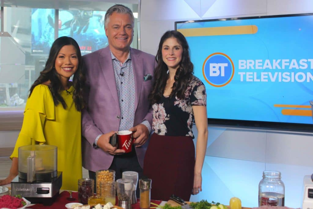 My Heart Beets for You on Breakfast Television #beets