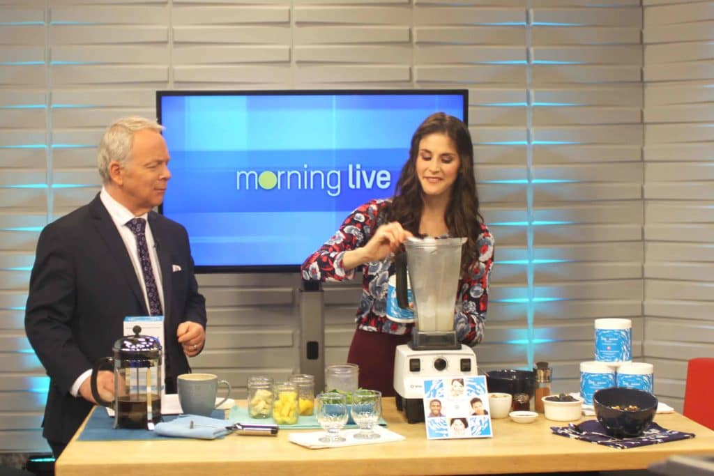 CH Morning Live DeepMarine Collagen anti-inflammatory recipes