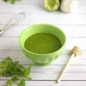 Zesty Cilantro Dressing from Healthy Fresh Salads