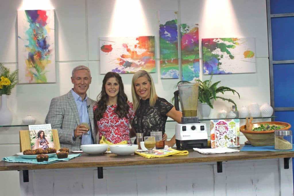 Plant-based iron-rich recipes for pregnancy (and everyone!) on The Morning Show