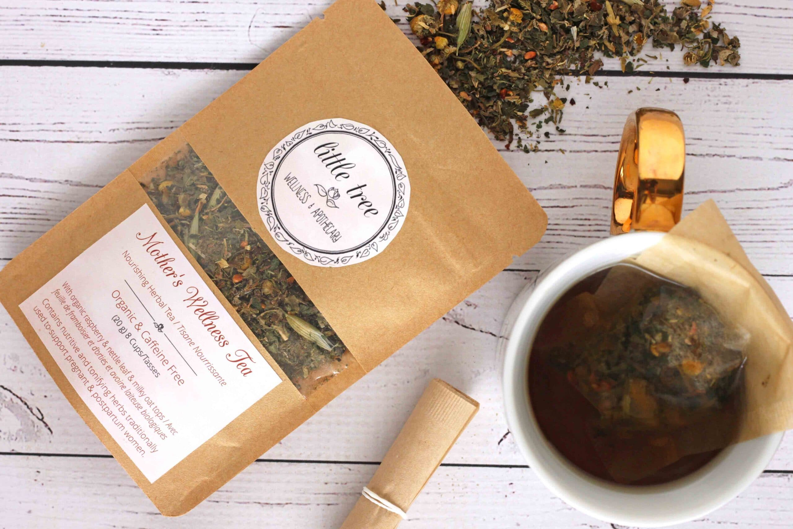 Natural ways to feel beautiful inside and out during pregnancy little tree wellness tea