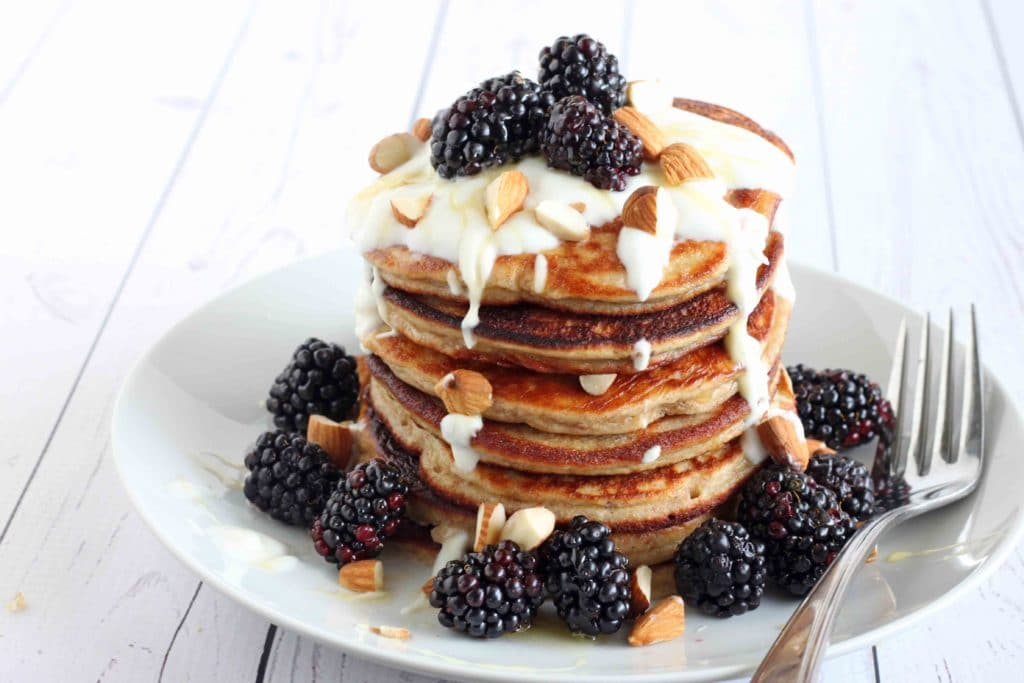 High Protein Pancakes by Jesse Lane Lee