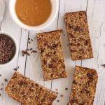 Chocolate Peanut Butter Energy Bars by Jesse Lane Lee #energybar
