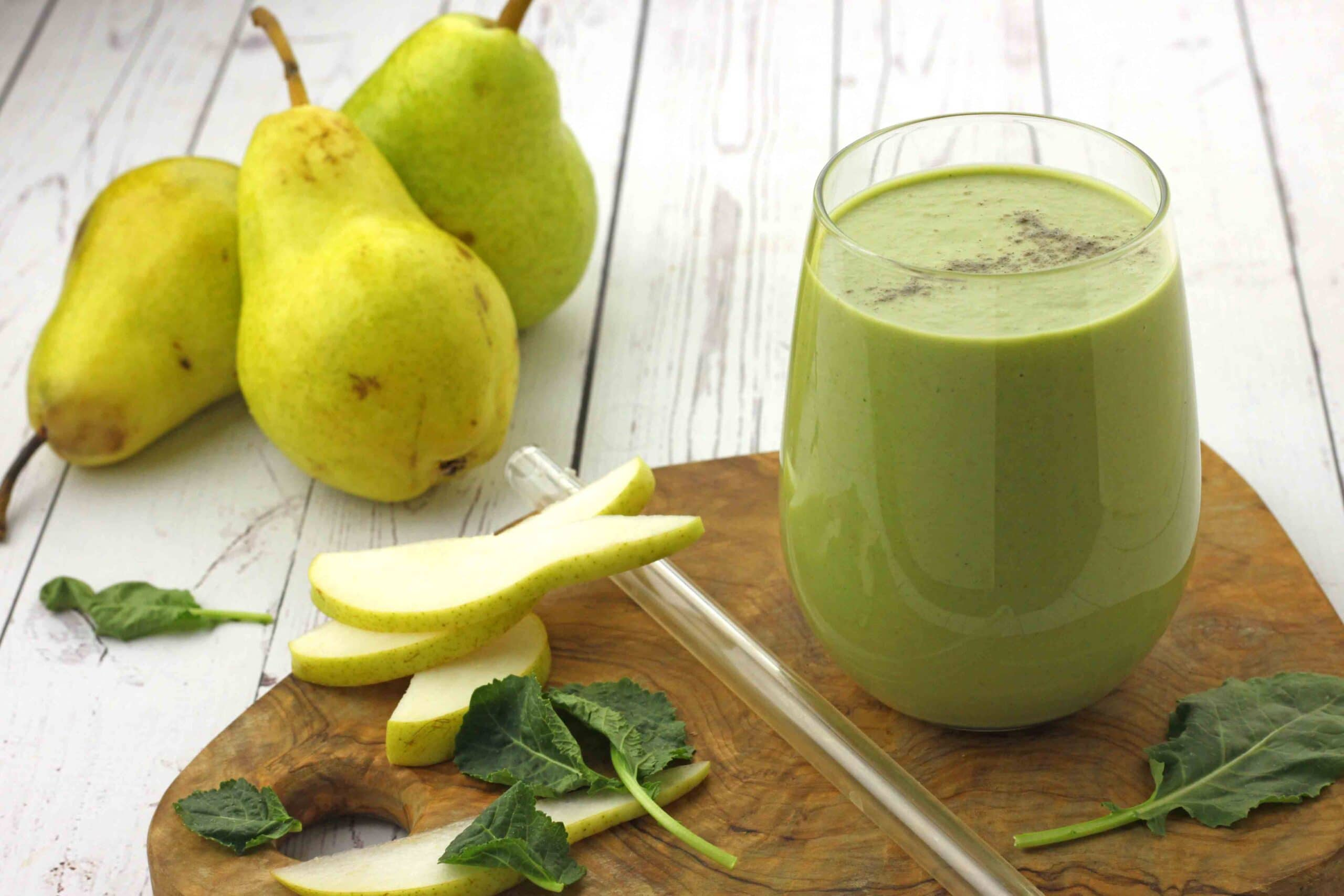 Spiced Pear Smoothie by Jesse Lane Lee