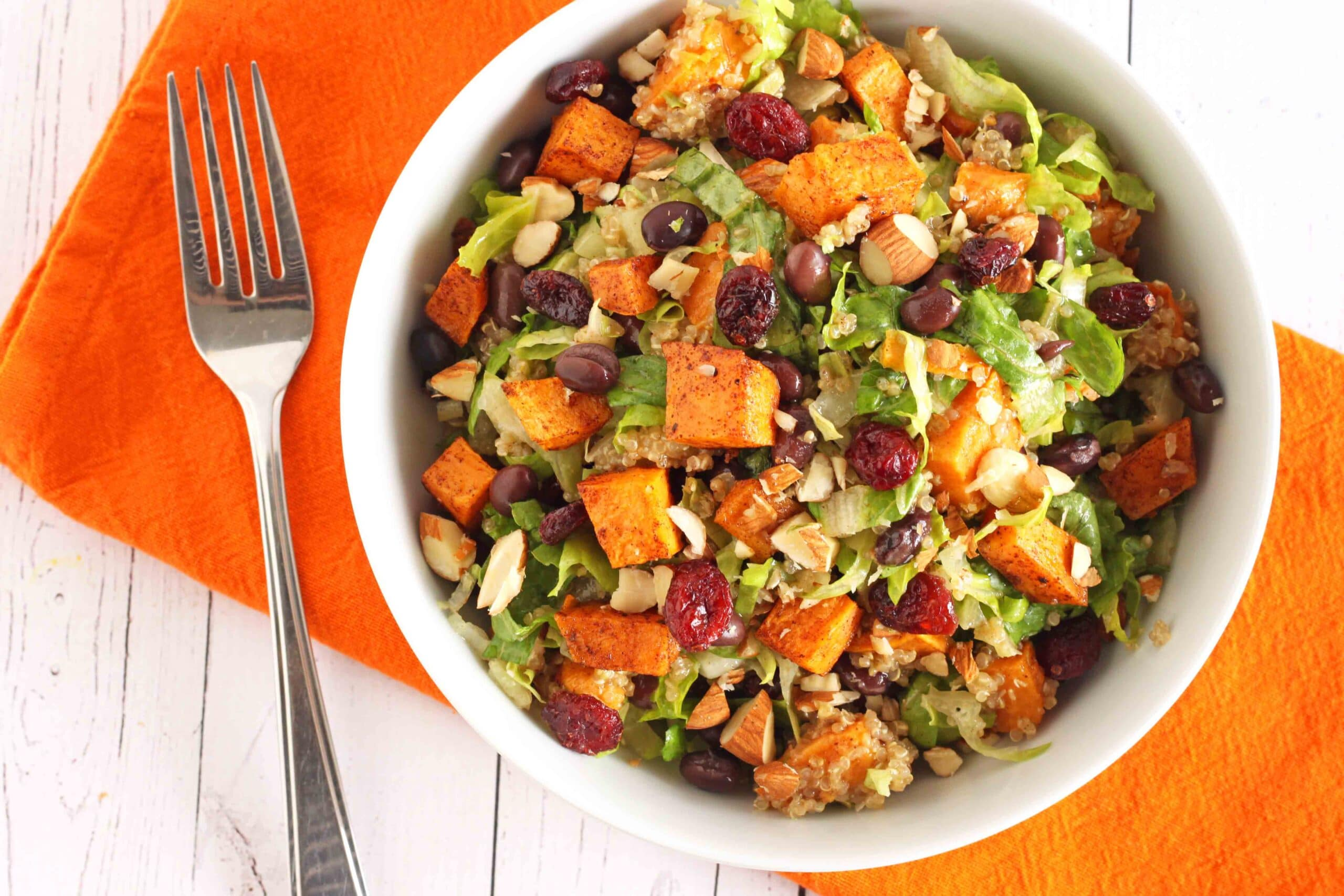 Hearty Vegan Fall Salad by Jesse Lane Wellness