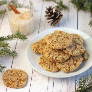 Oatmeal Eggnog Cookies by Jesse Lane Lee