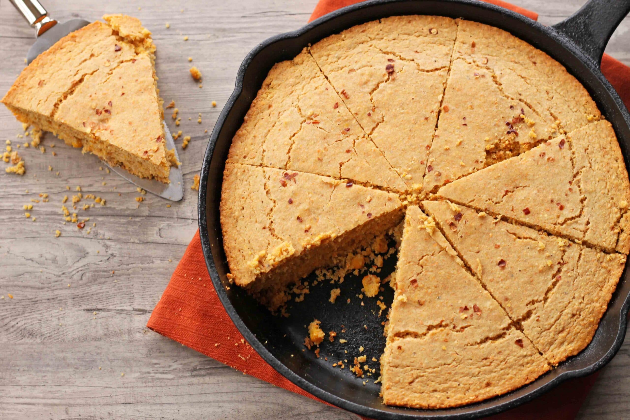 Gluten-free Cornbread from Healthy Homemade Soups and Sandwiches