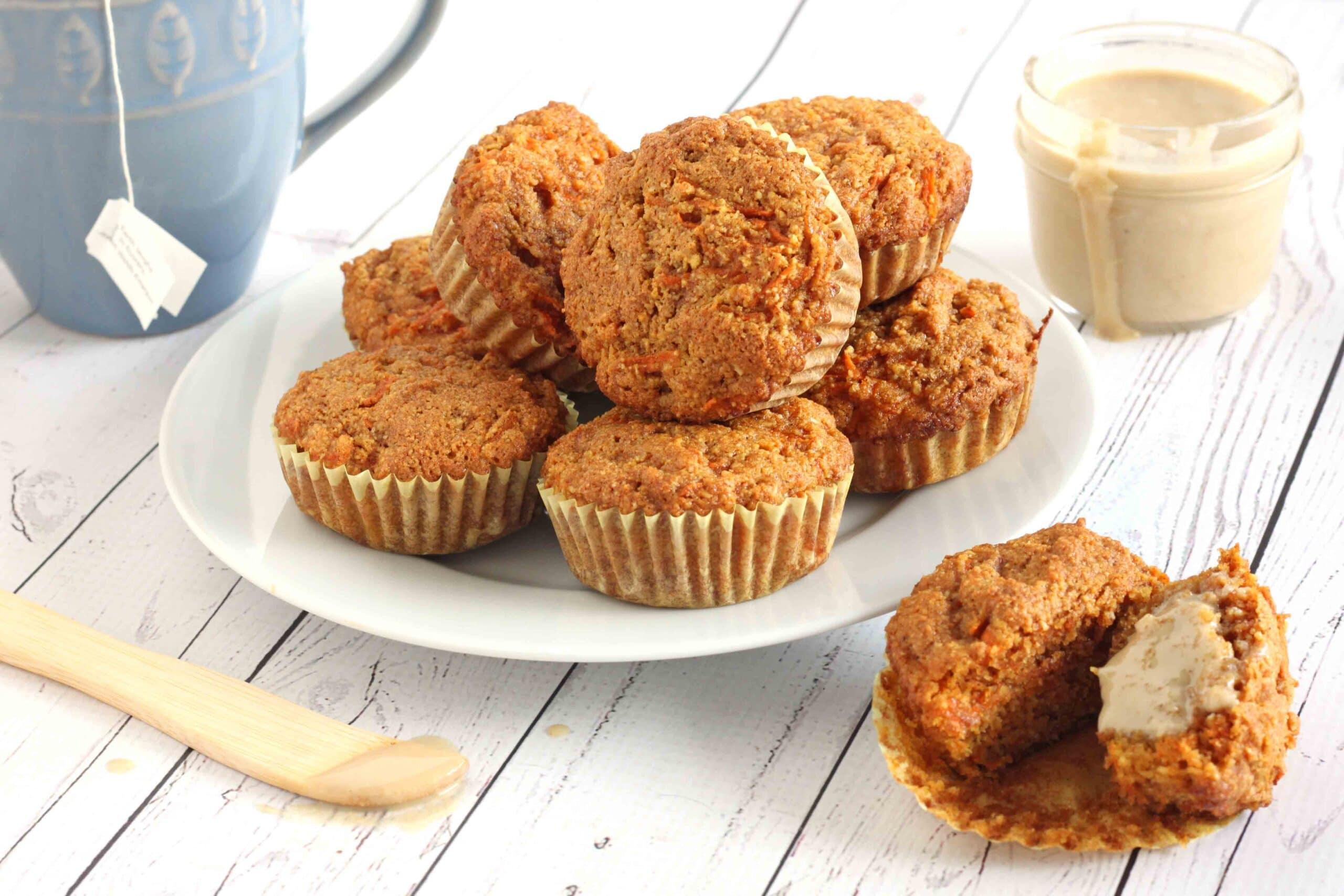 Anti-inflammatory Carrot Muffins by Jeses Lane Welllness
