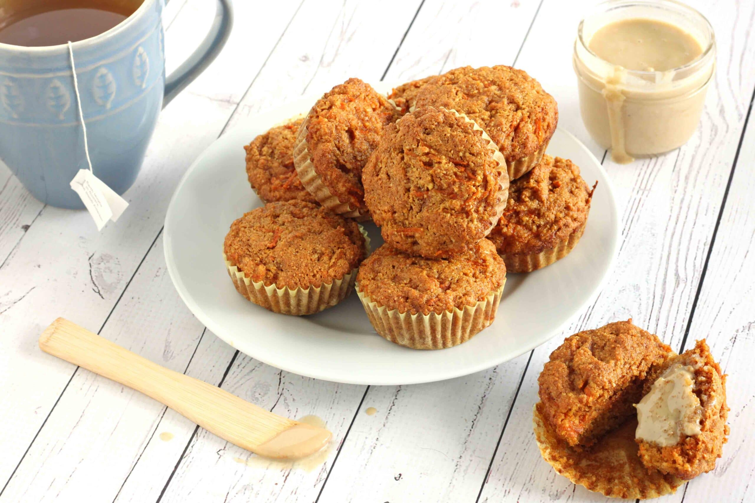 Anti-inflammatory Carrot Muffins by Jesse Lane Lee