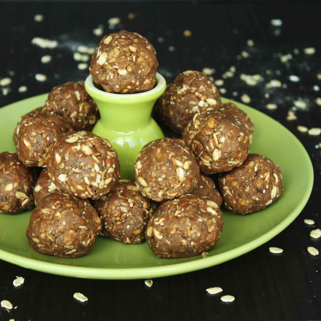 Protein Power Balls by Jesse Lane Lee