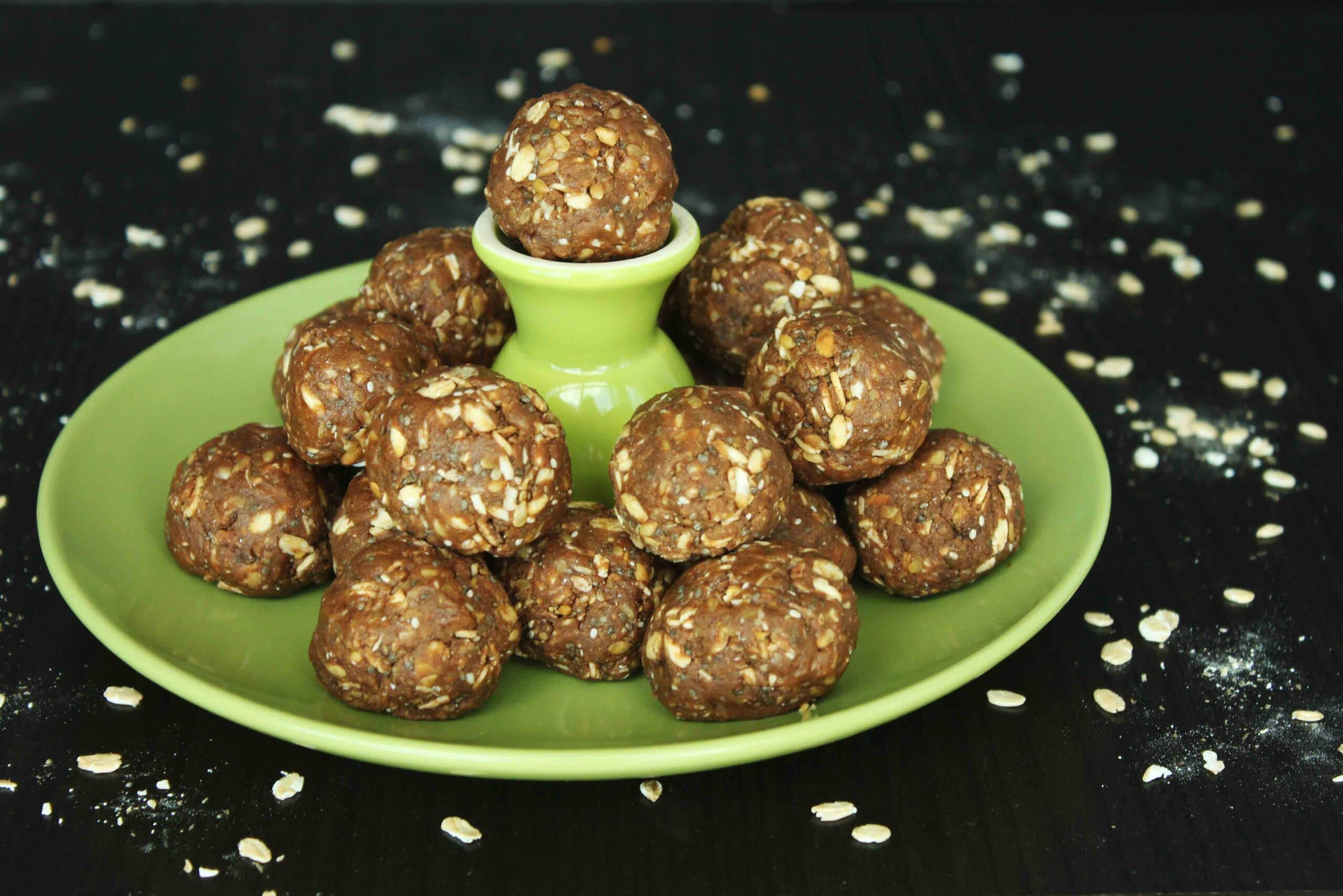 Protein Power Balls from Healthy Dairy Free Desserts