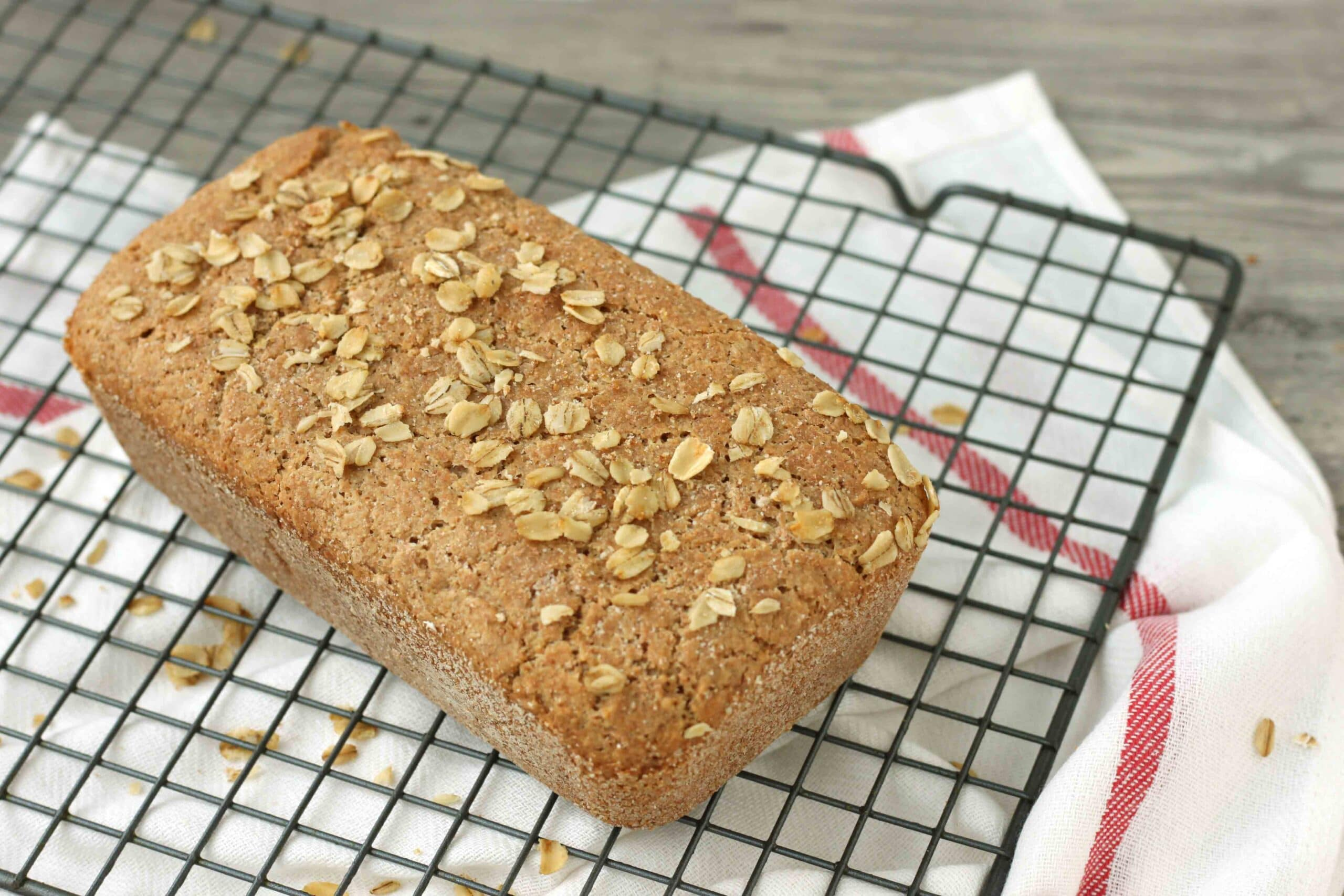 Honey Oat Spelt Bread from Healthy Homemade Soups and Sandwiches