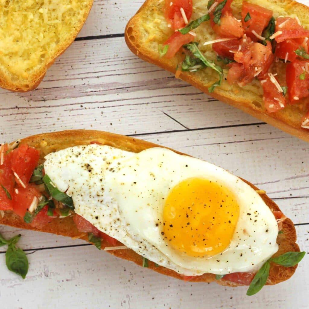 Italian Breakfast Sandwich by Jesse Lane Wellness