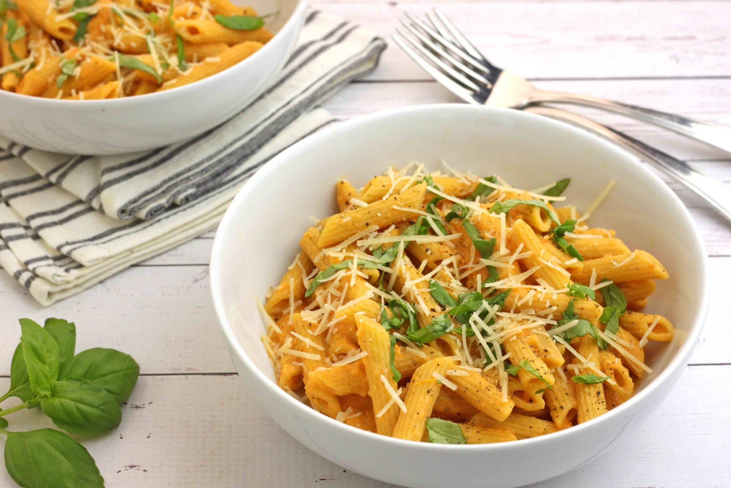 Pasta with Roasted Garlic and Tomato Sauce by Jesse Lane Lee