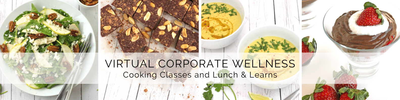 Virtual Corporate Wellness Cooking Classes and Lunch & Learns